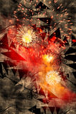 Fireworks Background Royalty Free Stock Image