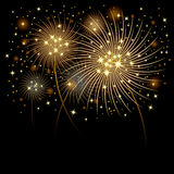 Fireworks background. Fireworks design for background in designwork Stock Images