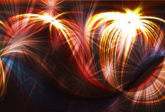 Fireworks background. Lovely background with room for text Royalty Free Stock Image