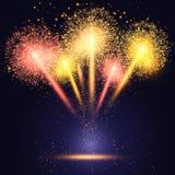 Fireworks background Royalty Free Stock Image