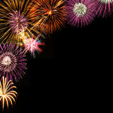 Fireworks background Royalty Free Stock Photography