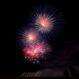 Fireworks Background Royalty Free Stock Photo