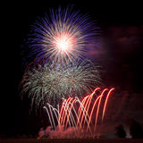Fireworks Background Royalty Free Stock Photos