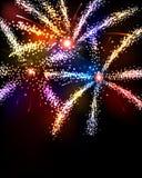 Fireworks Background Stock Image