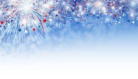 Fireworks background design Royalty Free Stock Photos