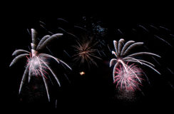 Fireworks background, fireworks pattern, colourful pattern Stock Images
