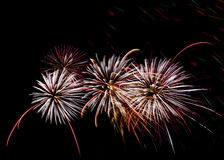 Fireworks background, fireworks pattern, colourful pattern Stock Photo