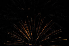 Fireworks background night Royalty Free Stock Photos