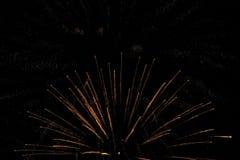 Fireworks background night Royalty Free Stock Photos