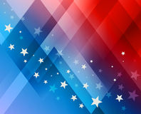 Fireworks background for 4th of July Stock Photo