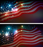 Fireworks background for 4th of July Royalty Free Stock Photography