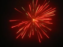 Fireworks. Beautiful fireworks in the dark night Stock Photography