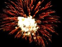 Fireworks / Big Beng Royalty Free Stock Photos