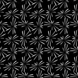 Fireworks  on black background. Pattern with white fireworks  on black background Royalty Free Stock Photos