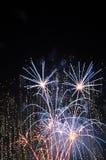 Fireworks in Blue. A Fireworks shot in Blue color Stock Image