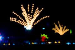Fireworks bokeh Royalty Free Stock Image
