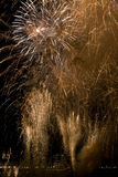 Fireworks in Bordeaux Royalty Free Stock Photos