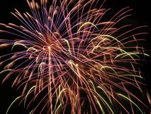 Fireworks burst 3 Stock Photo