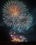Fireworks Burst Royalty Free Stock Photos