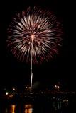 Fireworks Burst - Stock Image Royalty Free Stock Photos