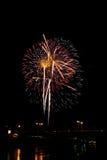 Fireworks Burst - Stock Image Royalty Free Stock Photo