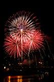 Fireworks Burst - Stock Image Royalty Free Stock Photography