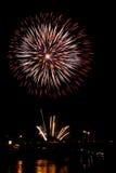 Fireworks Burst - Stock Image Stock Images