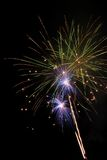 Fireworks Bursting In Air Royalty Free Stock Photos