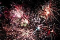 Fireworks bursting Royalty Free Stock Photography