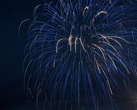 Fireworks For Canada Day Royalty Free Stock Photo