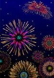 Fireworks celebration Royalty Free Stock Photography
