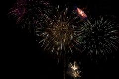 Fireworks celebration Stock Images