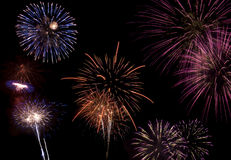 Fireworks celebration Royalty Free Stock Image