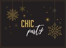 Fireworks and celebration background, chic party invitation design. Fireworks and celebration background, party invitation poster, banner royalty free illustration