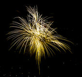 Fireworks. Celebration of the country in summer Stock Image