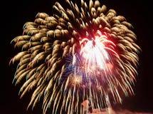 Fireworks celebration Royalty Free Stock Photos