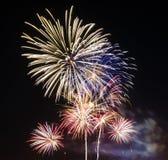 Fireworks celebration Stock Photos