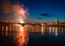 Fireworks celebration Stock Image