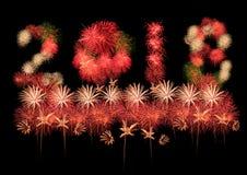 Fireworks celebration 2018 new yea Stock Photography
