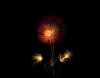 Fireworks celebration Stock Photography