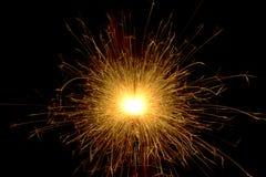 Fireworks. Christmas birthday dark black Stock Photography