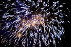 Fireworks Close-up Stock Photography