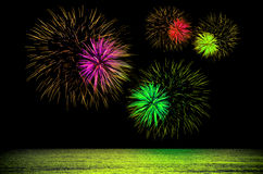 Fireworks . Stock Photography