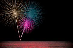Fireworks . Royalty Free Stock Images