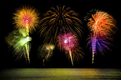 Fireworks . Royalty Free Stock Photography