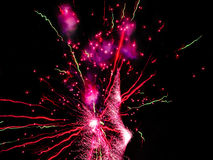 Fireworks color background Royalty Free Stock Photo