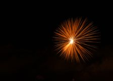 Fireworks,colorful fireworks background,fireworks explosion in dark sky, Malta, fireworks in Malta, Independence day, fireworks fe Royalty Free Stock Photo