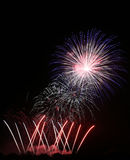 Fireworks. Colorful Fireworks scene at night Royalty Free Stock Image