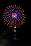 Fireworks colors 4 Royalty Free Stock Photos