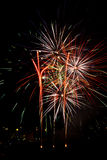 Fireworks. Colourful New Year's eve fireworks Royalty Free Stock Photography